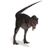 Dinosauro Tarbosaurus Immagini Stock