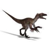 Dinosauro Utahraptor royalty illustrazione gratis