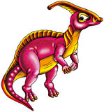 Dinosauro variopinto Immagine Stock
