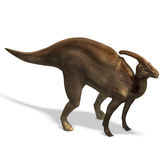 dinosaurparasaurolophus Royaltyfri Fotografi