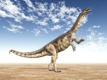 dinosaurplateosaurus Arkivfoton