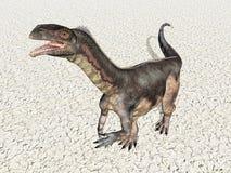 dinosaurplateosaurus Arkivbilder