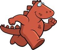 dinosaurrunning Arkivfoto