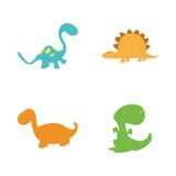 dinosaurs Fotografia Stock Libera da Diritti
