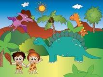 dinosaurs Images libres de droits