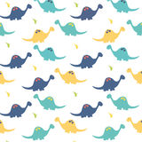 Dinosaurs Background royalty free illustration