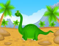 Dinosaurs cartoon Royalty Free Stock Photos