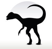 Dinosaurs dilophosaurus Stock Photography