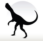 Dinosaurs dilophosaurus Royalty Free Stock Photos