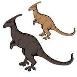 dinosaurs Fonds d'image de vecteur Illustrations pour des enfants illustration stock