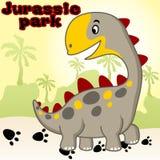 Dinosaurs heureux Photo libre de droits