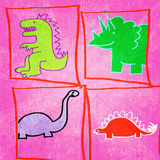 Dinosaurs! Illustration Royalty Free Stock Photography