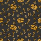 Dinosaurs pattern Royalty Free Stock Photo