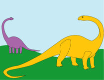 Dinosaurs Rule Royalty Free Stock Image