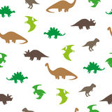 Dinosaurs seamless pattern Royalty Free Stock Image