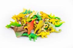 Dinosaurs toy Stock Photos