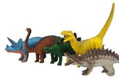 Dinosaurs toys photo. Royalty Free Stock Photos