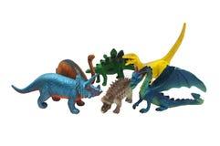 Dinosaurs toys photo. Royalty Free Stock Photography