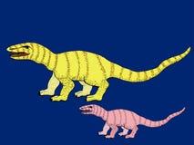 dinosaurs Veille de la toussaint Illustrations pour des enfants illustration stock