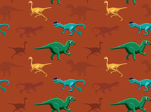 Dinosaurs Wallpaper Vector Illustration 15 Royalty Free Stock Images