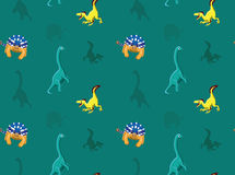 Dinosaurs Wallpaper Vector Illustration 12 Stock Photo