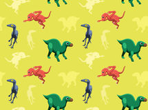 Dinosaurs Wallpaper Vector Illustration 13 Stock Photos