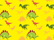 Dinosaurs Wallpaper Vector Illustration 15 Royalty Free Stock Image