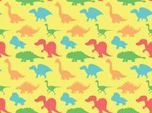 Dinosaurs Wallpaper Vector Illustration 7 Stock Images