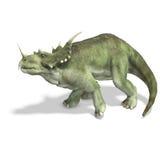 dinosaurstyracosaurus Arkivfoto