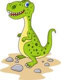 Dinosaurtecknad film Arkivfoton