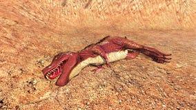dinosaurus royalty-vrije stock foto's