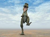 Dinosaurus Bistahieversor royalty-vrije illustratie