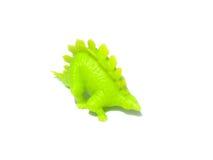 Dinosaurus die op wit wordt geïsoleerdr vector illustratie