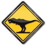 Dinosaurus en Tyrannosaurus vector illustratie