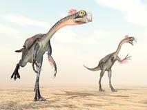 Dinosaurus Gigantoraptor Royalty-vrije Stock Fotografie