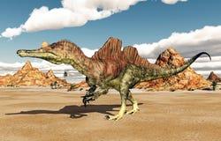 Dinosaurus Ichthyovenator stock illustratie