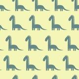 Dinosaurus leuk patroon Royalty-vrije Stock Fotografie