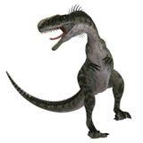 Dinosaurus Monolophosaurus stock illustratie