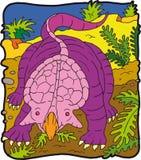 Dinosaurus Protoceratopo vector illustratie