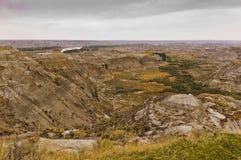 Dinosaurus Provinciaal Park, Alberta, Canada royalty-vrije stock foto's