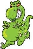 Dinosaurus Rampaging Royalty-vrije Stock Foto