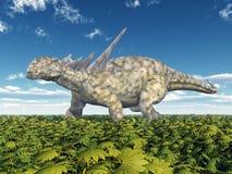 Dinosaurus Sauropelta Stock Afbeelding
