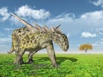 Dinosaurus Sauropelta Royalty-vrije Stock Afbeeldingen