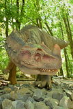 Dinosaurus. Sculpture in live size Royalty Free Stock Photos