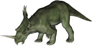 Dinosaurus Styracosaurus vector illustratie