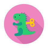 Dinosaurus toy Stock Image
