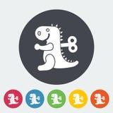 Dinosaurus toy Stock Photo