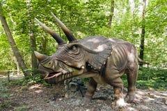 Dinosaurus - Triceratops stock afbeelding