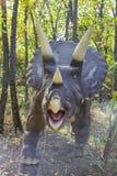 Dinosaurus - Triceratops royalty-vrije stock afbeelding