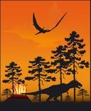 Dinosaurus - Vector Stock Foto